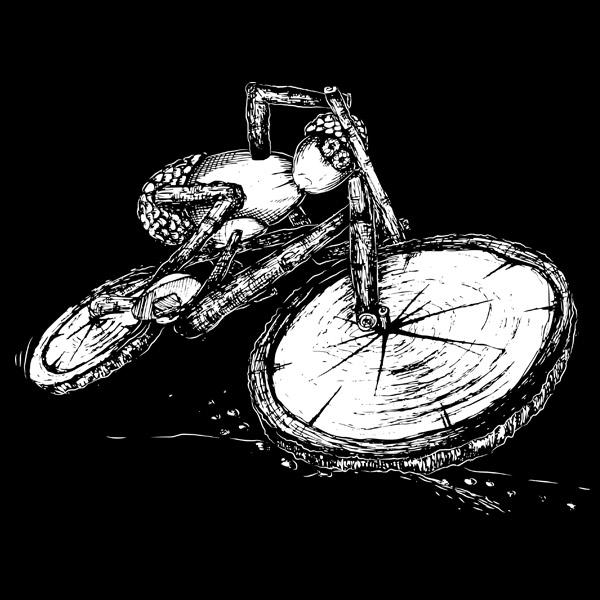 Dubánek akční cyklista