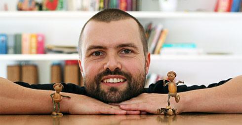 Petr Václavek - autor dubánků a majitel e-shopu Flatika