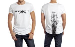 Blatníky jsou pro sraby - odvážné triko pro odvážné cyklisty