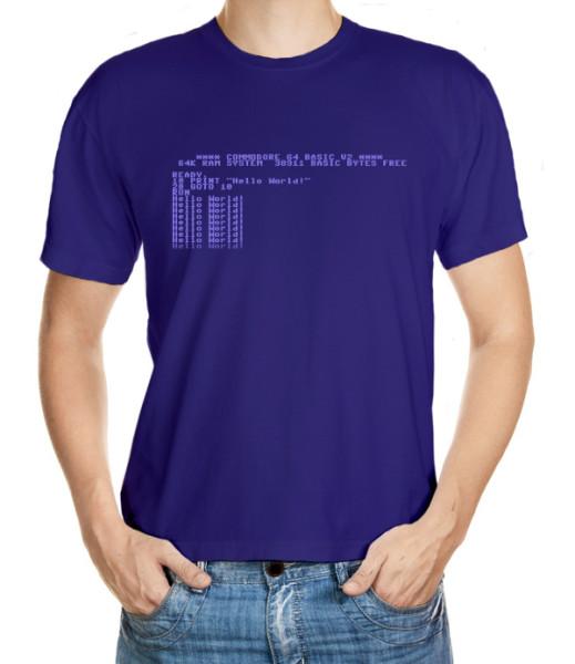 Tričko pro fandy osmibitového počítače C64