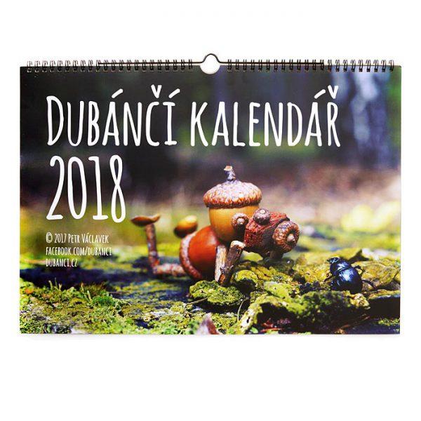 Dubánčí nástěnný kalendář