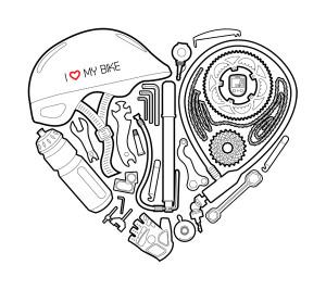 I love my bike – tričko pro milovníky kola