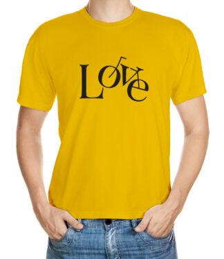 Cyklisticko - typografické triko
