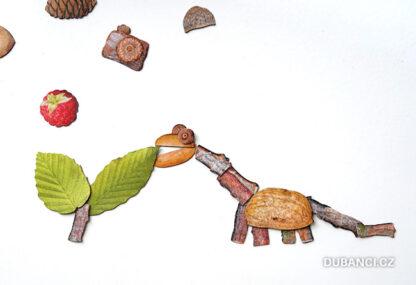 Dubnetky ukázka - brontosaurus