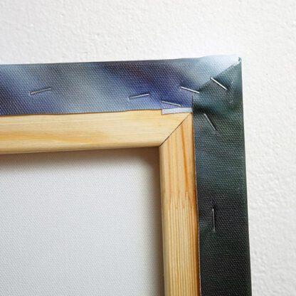 Detail fotoplátna - roh obrazu