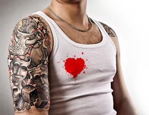 Valentýnský motiv pro drsňáky