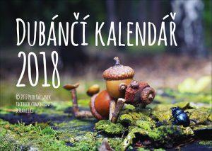 Nástěnný dubánčí kalendář pro rok 2018