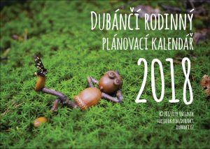Rodinný plánovací kalendář 2018 na stěnu