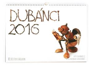 Kalendář Dubánci 2016