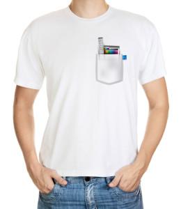 Tričko pro grafiky - palety Adobe Photoshopu