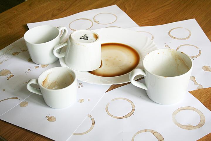 Výroba kávového silničního kola