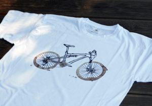 Tričko s motivem kávového horského kola