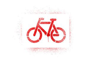 Graffitti cyklo motiv