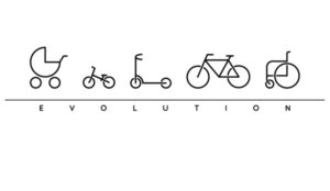 Evoluce cyklsity – motiv pro bikery