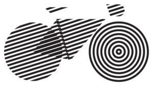 Geometrický motiv jízdního kola