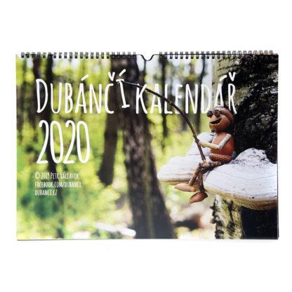 Nástěnný dubánčí kalendář