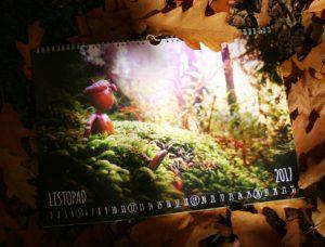 Nástěnný kalendář s minimalistickým pojetím