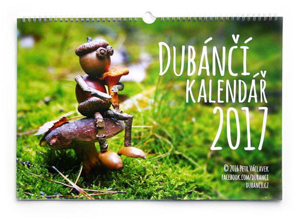 Dubánčí nástěnný kalendář 2017