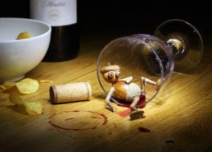 Dubánek alkoholik – pohlednice pro milovníky vína