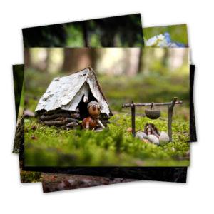 Pohlednice na prázdniny, školy v přírodě a tábory
