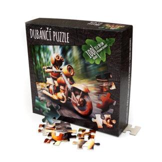 Dubánčí puzzle 100 dílků v krabičce
