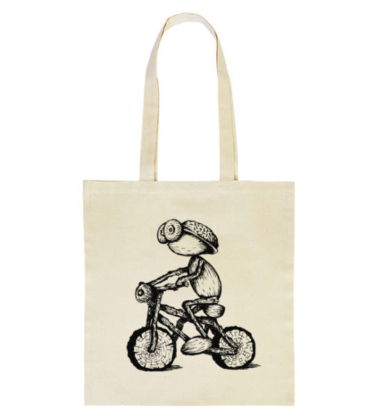 Taska s dubánkem na kole