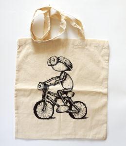 Taska s dubánkem bikerem
