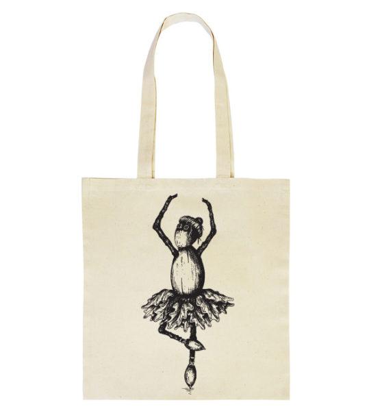 Duběnka baletka na látkové tašce