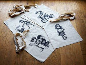 Ukázky tašek s dubánky