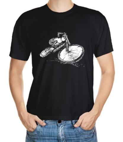 Tričko s akčním dubánkem sjezdařem