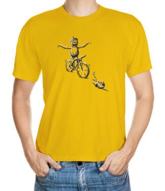 Cyklista bez držení