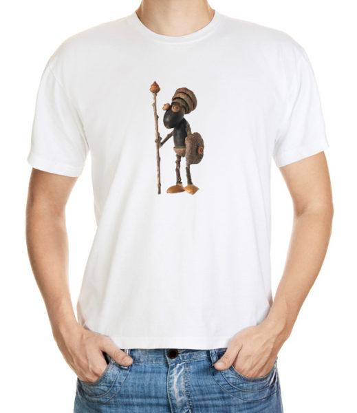 Tričko s exotickým dubánčím bojovníkem
