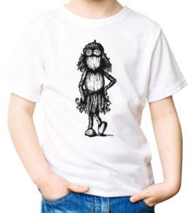 Tričko pro holčičky s kresbou duběnky