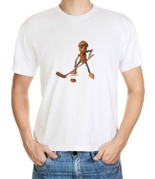 Dubánek hokejista na tričku