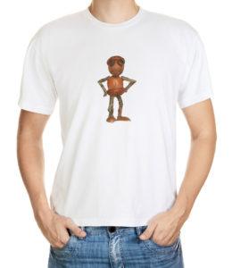 Tričko s malým zvědavým dubánkem