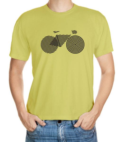 Tričko s geometrickým kolem