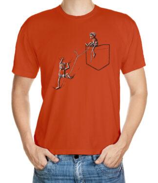 Tričko s dubánky horolezci