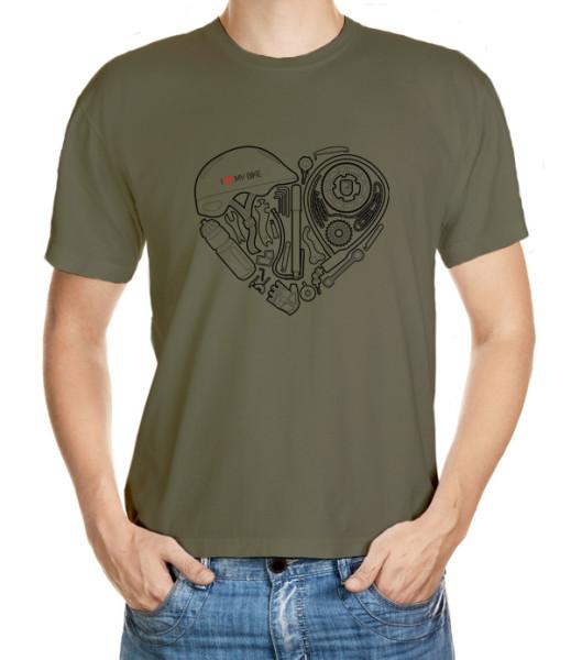 I love my bike - tričko pro milovníky kola