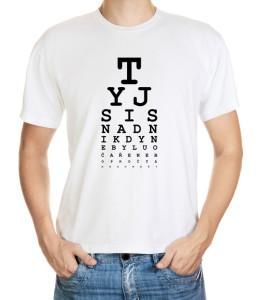 Vtipné tričko - očař