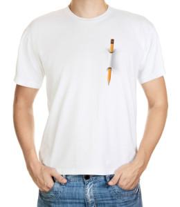 Tričko s tužkou