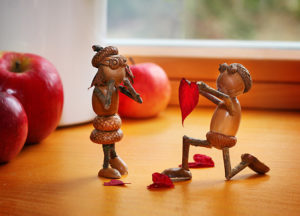 Valentýnka s dubánky